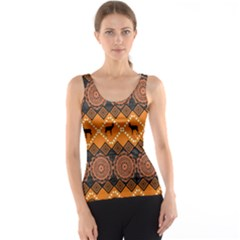 Traditiona  Patterns And African Patterns Tank Top