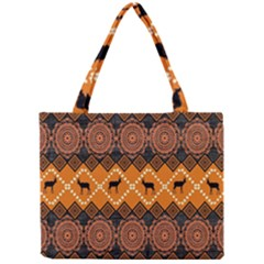 Traditiona  Patterns And African Patterns Mini Tote Bag