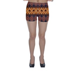 Traditiona  Patterns And African Patterns Skinny Shorts