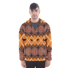 Traditiona  Patterns And African Patterns Hooded Wind Breaker (Men)