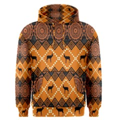 Traditiona  Patterns And African Patterns Men s Pullover Hoodie