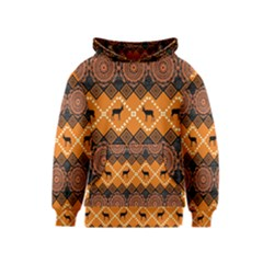 Traditiona  Patterns And African Patterns Kids  Pullover Hoodie