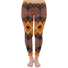 Traditiona  Patterns And African Patterns Classic Winter Leggings