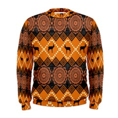 Traditiona  Patterns And African Patterns Men s Sweatshirt