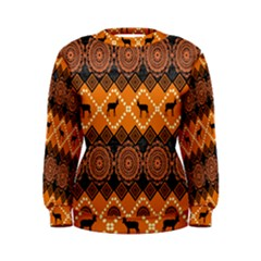 Traditiona  Patterns And African Patterns Women s Sweatshirt