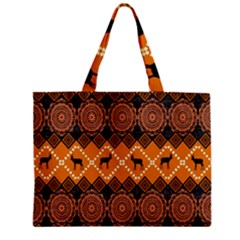 Traditiona  Patterns And African Patterns Zipper Mini Tote Bag