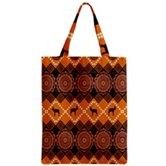 Traditiona  Patterns And African Patterns Zipper Classic Tote Bag