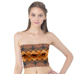 Traditiona  Patterns And African Patterns Tube Top
