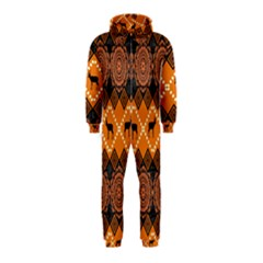 Traditiona  Patterns And African Patterns Hooded Jumpsuit (Kids)
