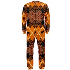 Traditiona  Patterns And African Patterns OnePiece Jumpsuit (Men)