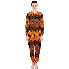 Traditiona  Patterns And African Patterns OnePiece Jumpsuit (Ladies)