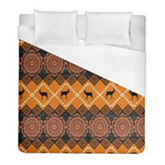 Traditiona  Patterns And African Patterns Duvet Cover (Full/ Double Size)
