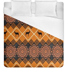 Traditiona  Patterns And African Patterns Duvet Cover (King Size)