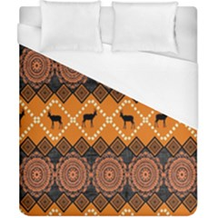 Traditiona  Patterns And African Patterns Duvet Cover (California King Size)