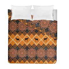 Traditiona  Patterns And African Patterns Duvet Cover Double Side (Full/ Double Size)
