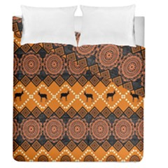 Traditiona  Patterns And African Patterns Duvet Cover Double Side (Queen Size)