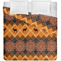 Traditiona  Patterns And African Patterns Duvet Cover Double Side (King Size)