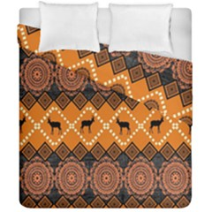 Traditiona  Patterns And African Patterns Duvet Cover Double Side (California King Size)