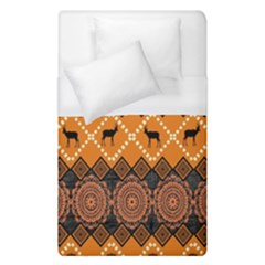 Traditiona  Patterns And African Patterns Duvet Cover (Single Size)