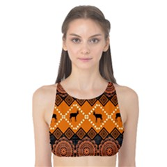 Traditiona  Patterns And African Patterns Tank Bikini Top