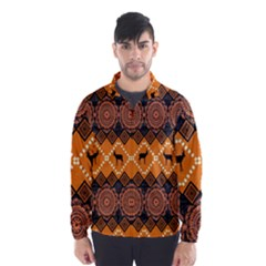 Traditiona  Patterns And African Patterns Wind Breaker (Men)