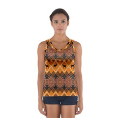 Traditiona  Patterns And African Patterns Women s Sport Tank Top