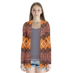 Traditiona  Patterns And African Patterns Cardigans