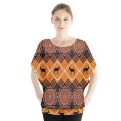 Traditiona  Patterns And African Patterns Blouse
