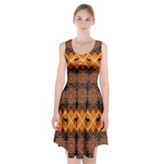 Traditiona  Patterns And African Patterns Racerback Midi Dress