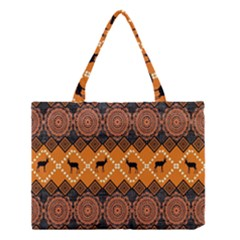 Traditiona  Patterns And African Patterns Medium Tote Bag