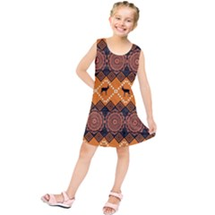Traditiona  Patterns And African Patterns Kids  Tunic Dress