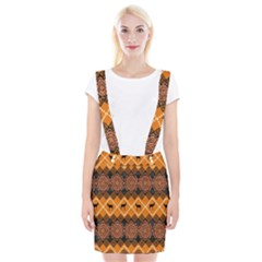 Traditiona  Patterns And African Patterns Suspender Skirt
