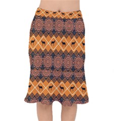 Traditiona  Patterns And African Patterns Mermaid Skirt