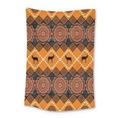 Traditiona  Patterns And African Patterns Small Tapestry