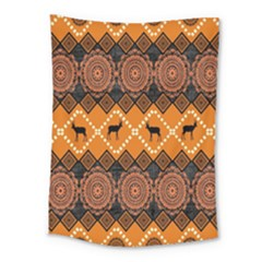 Traditiona  Patterns And African Patterns Medium Tapestry