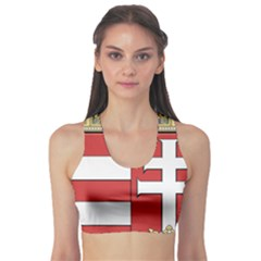 Medieval Coat of Arms of Hungary  Sports Bra