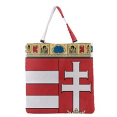Medieval Coat of Arms of Hungary  Grocery Tote Bag