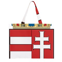 Medieval Coat of Arms of Hungary  Large Tote Bag
