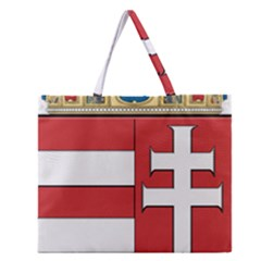 Medieval Coat of Arms of Hungary  Zipper Large Tote Bag