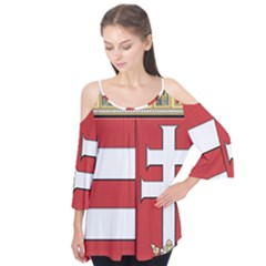Medieval Coat of Arms of Hungary  Flutter Tees