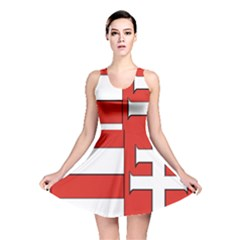 Medieval Coat of Arms of Hungary  Reversible Skater Dress