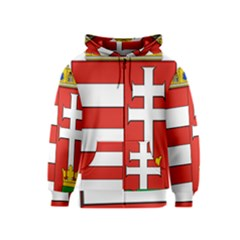 Medieval Coat of Arms of Hungary  Kids  Zipper Hoodie