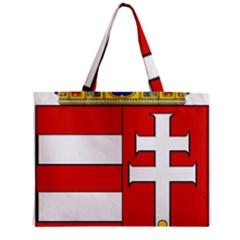 Medieval Coat of Arms of Hungary  Zipper Mini Tote Bag