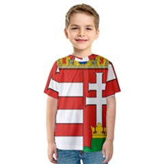 Medieval Coat of Arms of Hungary  Kids  Sport Mesh Tee