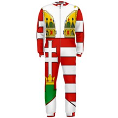 Medieval Coat of Arms of Hungary  OnePiece Jumpsuit (Men)