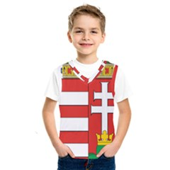 Medieval Coat of Arms of Hungary  Kids  SportsWear