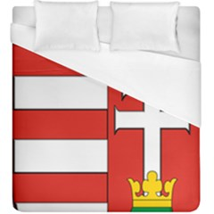 Medieval Coat of Arms of Hungary  Duvet Cover (King Size)