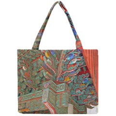 Traditional Korean Painted Paterns Mini Tote Bag