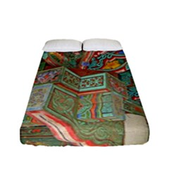Traditional Korean Painted Paterns Fitted Sheet (Full/ Double Size)