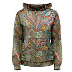 Traditional Korean Painted Paterns Women s Pullover Hoodie